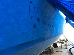 Blister Removal & Fiberglass Refinishing | Image 4 | Bulletproof Marine Services