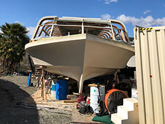 Blister Removal & Fiberglass Refinishing | Image 6 | Bulletproof Marine Services
