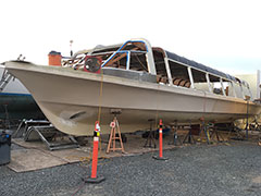 Blister Removal & Fiberglass Refinishing | Image 7 | Bulletproof Marine Services